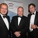 Gerlad Ratner, Simon Robinson, John Gellatly, IPF Midlands Dinner