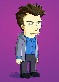 The Simpsons Edmund Daniel Radcliffe