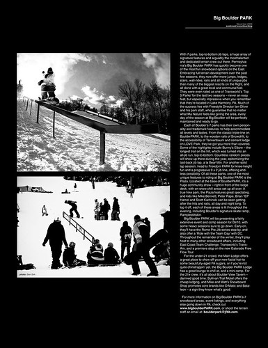 East Coast Snowboarding Magazine November 2009