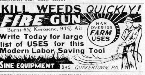 KILLS WEEDS QUICKLY