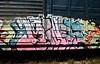 IMG_3208 (mightyquinninwky) Tags: railroad graffiti tag graf tracks railway tags tagged railcar rails boxcar graff graphiti freight trainart fr8 railart boxcarart freightart taggedboxcar paintedboxcar paintedrailcar taggedrailcar