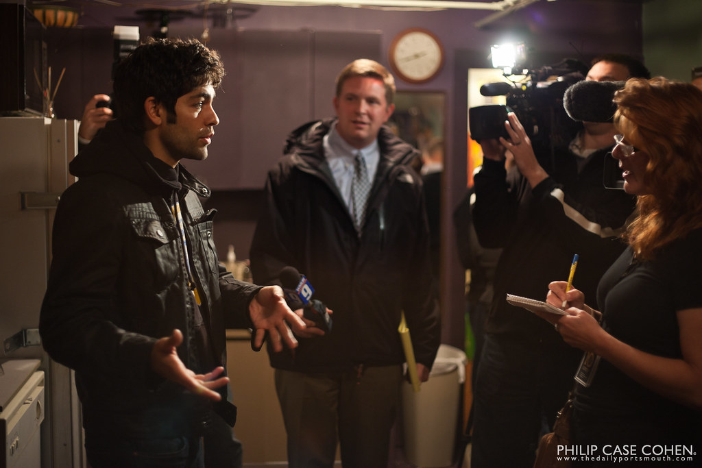 Adrian Grenier at 10th Annual New Hampshire Film Festival