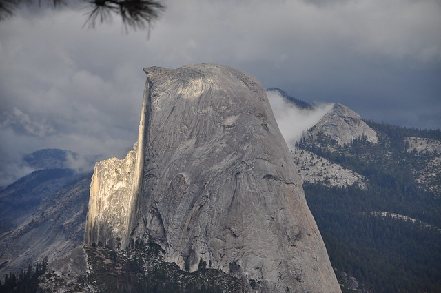 Storm Light On Half Dome