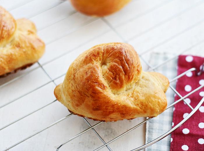 caracoles de pan