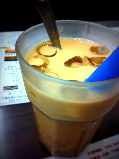 紅豆凍奶茶