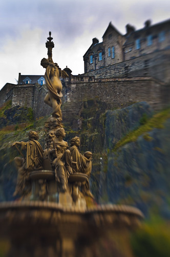 Ross Fountain and the Castle