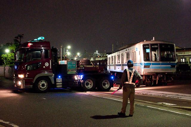 東京メトロ東西線05系05-108F 05-108 川崎港へ陸送
