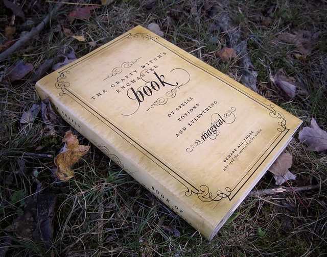 photograph regarding Harry Potter Spell Book Printable identified as Absolutely free printable spell e book protect much more spookylicious