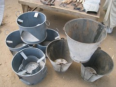 Stoves & buckets