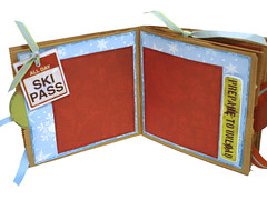 Ski Scrapbook 2 (apicketfencelife) Tags: ski etsy 31 photoalbum snowskiing premadescrapbook apicketfencelife