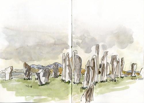 0817T_04 Callanish Stones