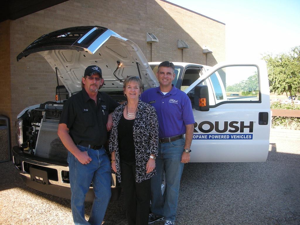 ROUSH Propane Truck