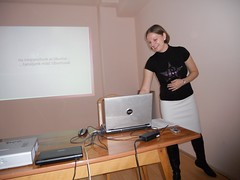 Presenting at the LOK (Linux in the Education Conference)
