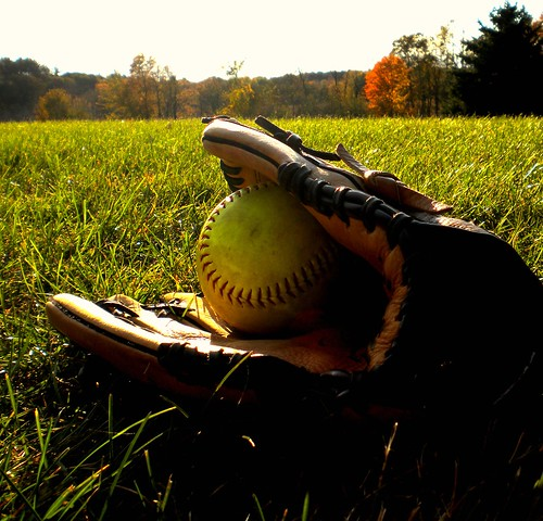 The love for softball