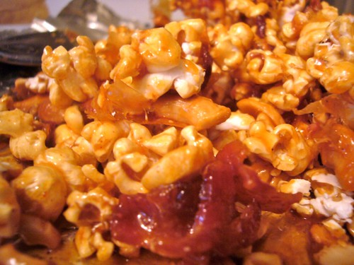 Caramel Bacon Popcorn With Cayenne and Cashews | The ...