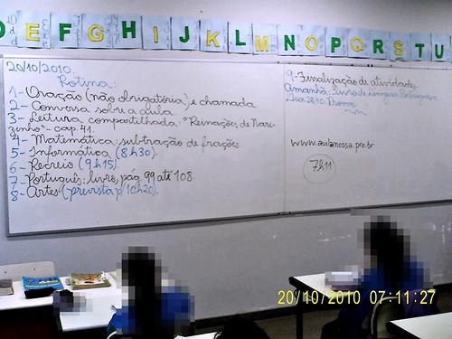 Rotina Prevista (20/10/2010)