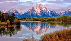 Oxbow Bend, June, 2010 (Jeff Clow) Tags: morning mountmoran tetons grandtetonnationalpark oxbowbend mtmoran jacksonholewyoming nikond700