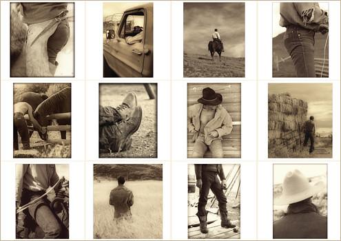 2011 cowboy calendar