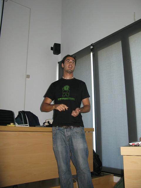 Raúl hablando de Scrum