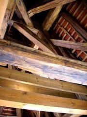 Dach Geblk (Django_ Reinhardt Walter) Tags: tower holz beams excursion historie handwerk fachwerk balken geblk trmetorre