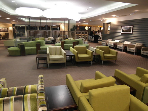 Air New Zealand Koru Lounge in Auckland