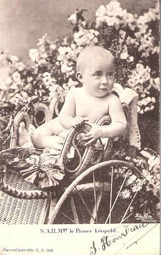 Prinz  Leopold von Belgien, zukünftiger König Leopold III. von Belgien 1900 – 1983