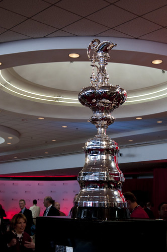 America's Cup Trophy, Oracle OpenWorld & JavaOne + Develop 2010, Moscone North