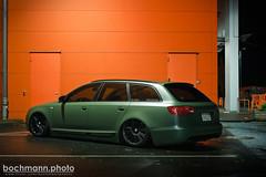 IMG_9472 (bochmann.photo) Tags: green familia matt ride flat air low wheels grün audi avant bentley matte a6 vag bagged airride felgen luftfahrwerk lowfamilia juststancecom