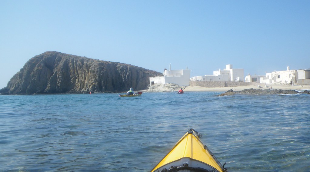 Cabo de Gata en kayak 379
