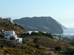 Almeria Walk 2 (15 pictures) (^Tom) Tags: castles walking skulls graffiti beaches volcanoes almeria oases coastalwalk lasnegras cabodegatanijar valleywalk rodalquillar jardindelossuenos
