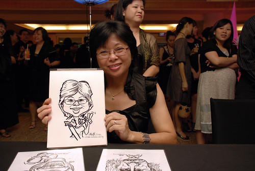 Caricature live sketching for Great Eastern D&D - 5