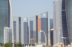 Sharq Skyline-- 25th, October, 2010-2 (Thamerium) Tags: tower skyscraper kuwait kuwaitcity arabiangulf tallbuilding sharq kbt sharqskyline kuwaitbusinesstowntowers