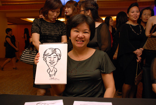 Caricature live sketching for Great Eastern D&D - 11