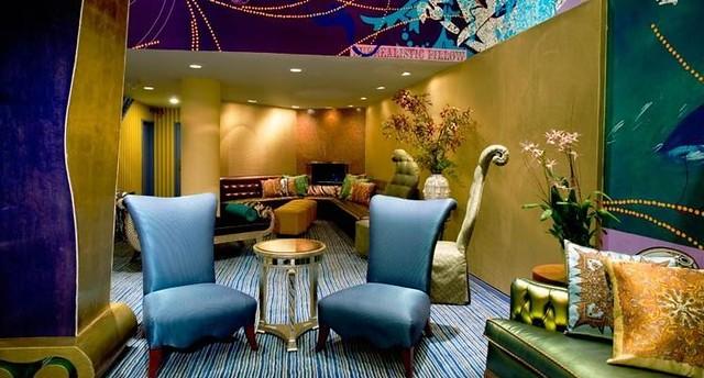 Стильный интерьер отеля Трианон в Сан-Франциско