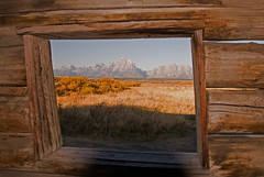 Room With A View (dbushue) Tags: mountains window cabin valley tetons range roomwithaview soe 2010 grandtetonnationalpark coth gtnp supershot cunninghamcabin itsawonderfulworld mywinners theunforgettablepictures absolutelystunningscapes damniwishidtakenthat dragondaggerphoto dailynaturetnc10