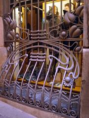 Teruel.Reja (joseluisgildela) Tags: teruel modernismo hierro