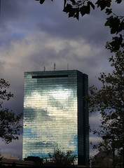 Dark Sky (brooksbos) Tags: city blue sky urban reflection tower boston skyline architecture clouds skyscraper silver dark geotagged ma photography reflecting photo mr sony newengland dramatic stormy cybershot hancock bostonma backbay sonycybershot bostonist bay masschusetts lurvely back 02116 thatsboston dschx5v hx5v brooksbos