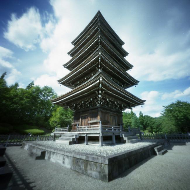 Jyoge-san Gojyu-no-tou 定義山五重塔