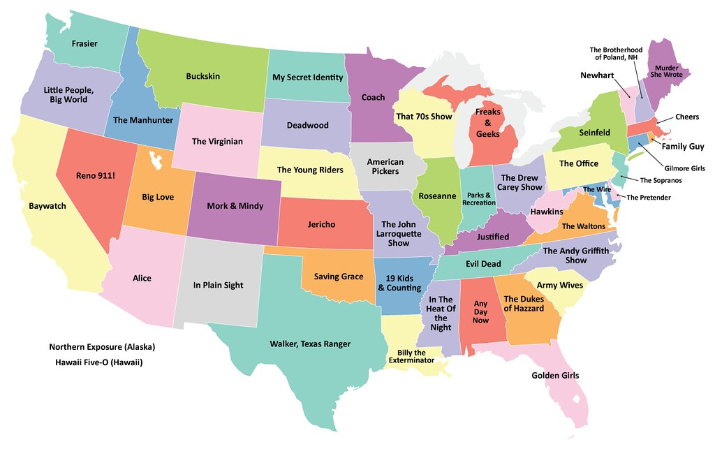 A Map Of State Movies Big Think - Big map of us