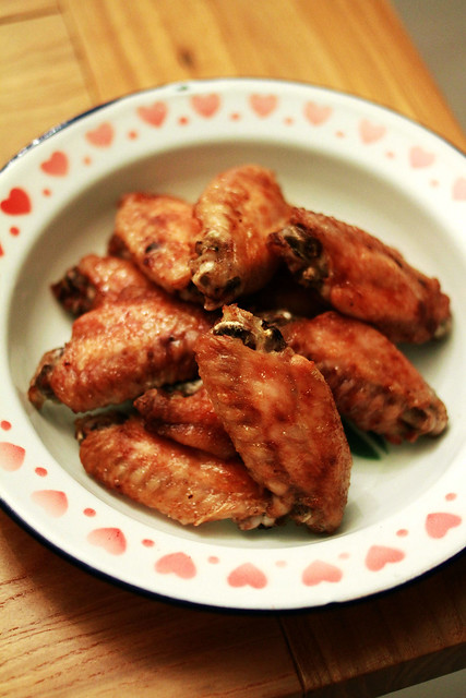Grilled Chicken Wings in Shrimp Paste