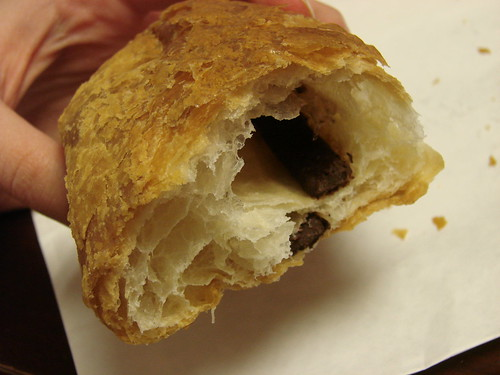 Inside Pain au chocolate from Michel Cluizel