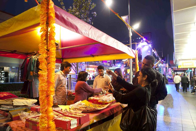 Let your senses guide you through the Masala Night Market!