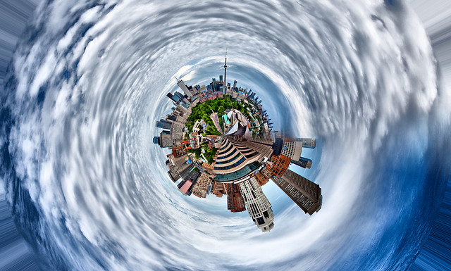 Little Planet Toronto [EOS 5DMK2 ] title=