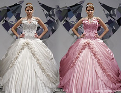 One for me and one for my bride! (Sabrina Satin1) Tags: feminine fantasy bridal effeminate ballgown bridalfantasy crossdressingfantasy