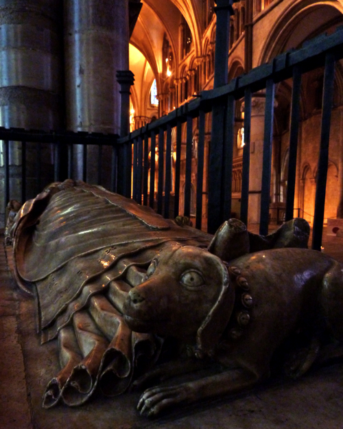 Canterbury Cathedral ~ interior Sculpture