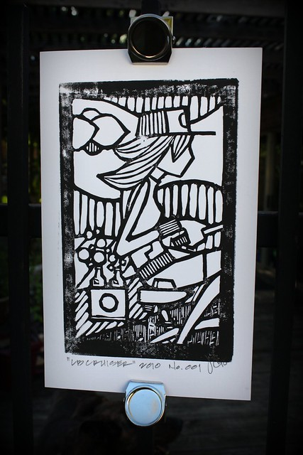 John S. Culqui Lino Print