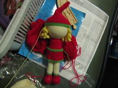 Weihnachts-Mdchen (haekelanleitungen) Tags: santa weihnachten weihnachtsmann amigurumi klaus puppe anleitung hkeln gurumi hkelanleitung