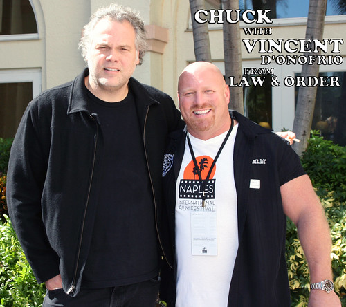 Chuck with Vincent