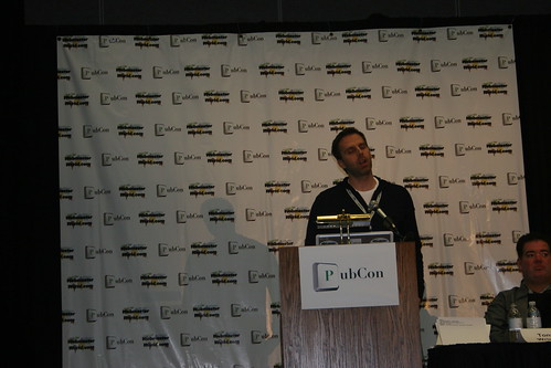 Mr David Mink with the head nod at Pubcon Vegas 2010