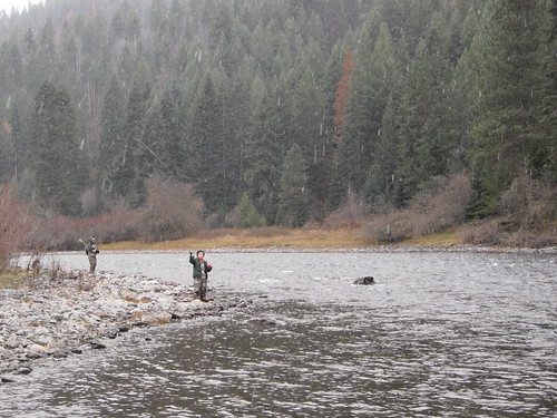 Brenden fishing the Grande Ronde